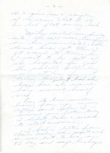 Letter from May, 5/24/1945. Click to enlarge.