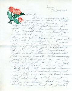 Letter from May, 7/24/45