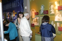 Guests enjoying the Making an Impact exhibit